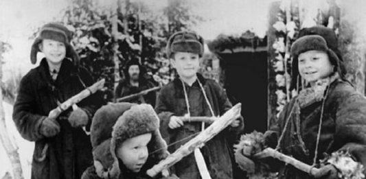 Дворовые баталии пацанов 50-60-х