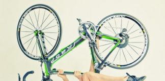Имитация велосипеда - женщинам всегда и везде!