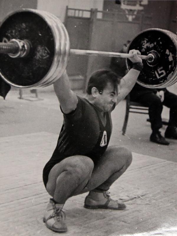 1967 г. Тяжелая атлетика Ленинграда