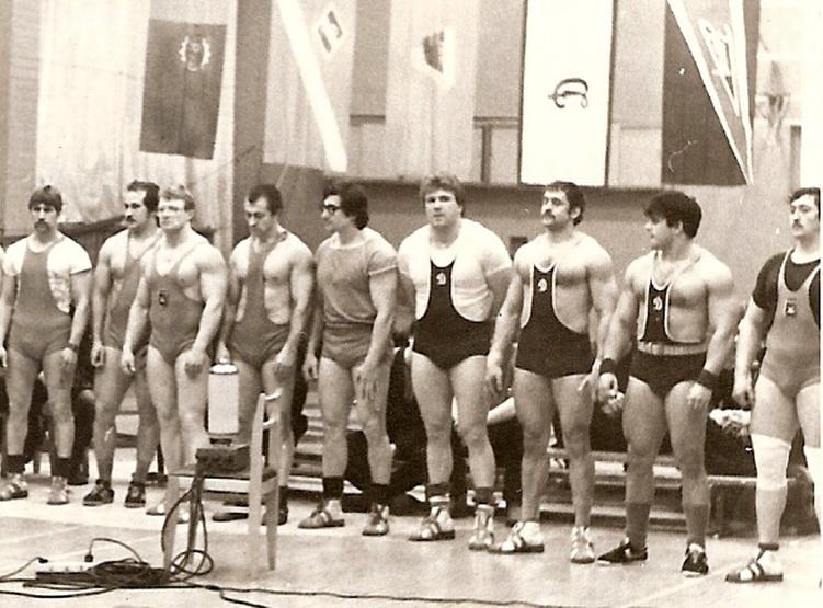 1987 Первый Чемпионат Ленинграда по силовому троеборью