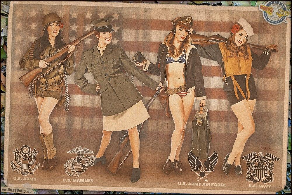 Pin-Up - американские каноны красоты