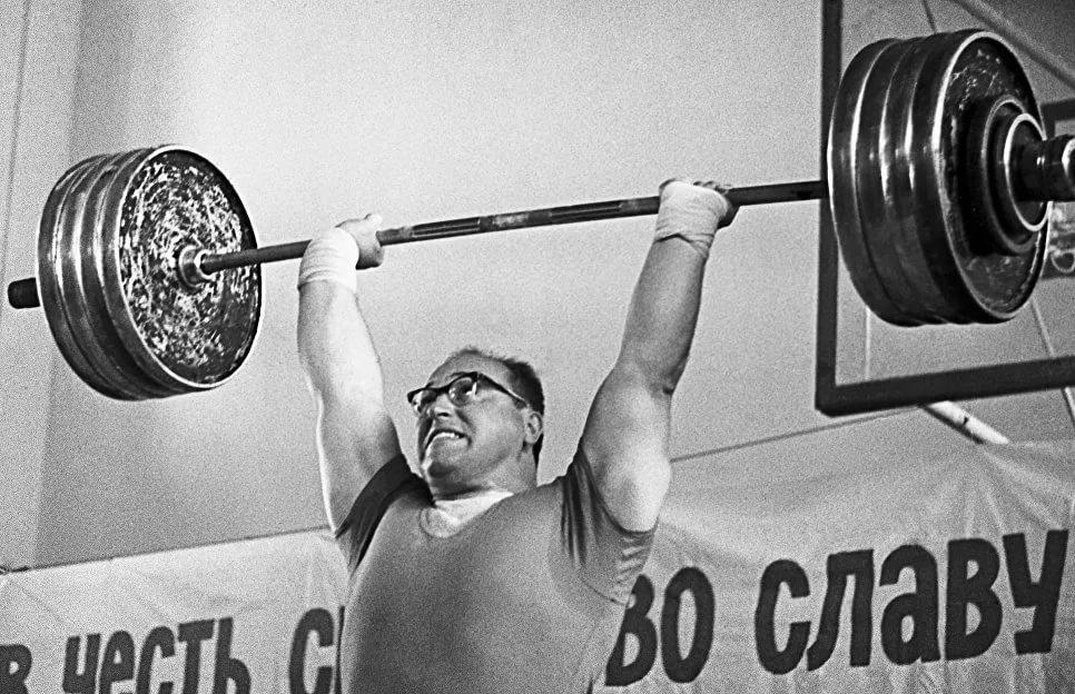 Yury Vlasov in Paris 1964