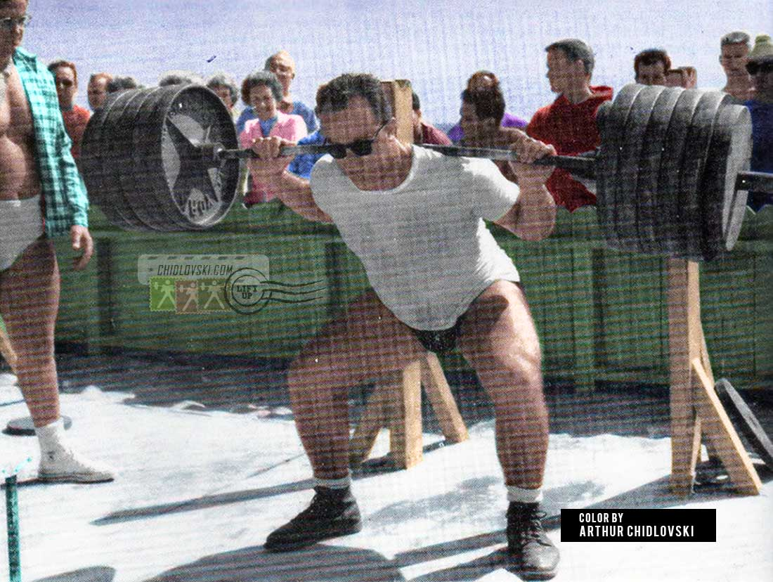 Ike Berger at the Venice Beach & Heavy Back Squats
