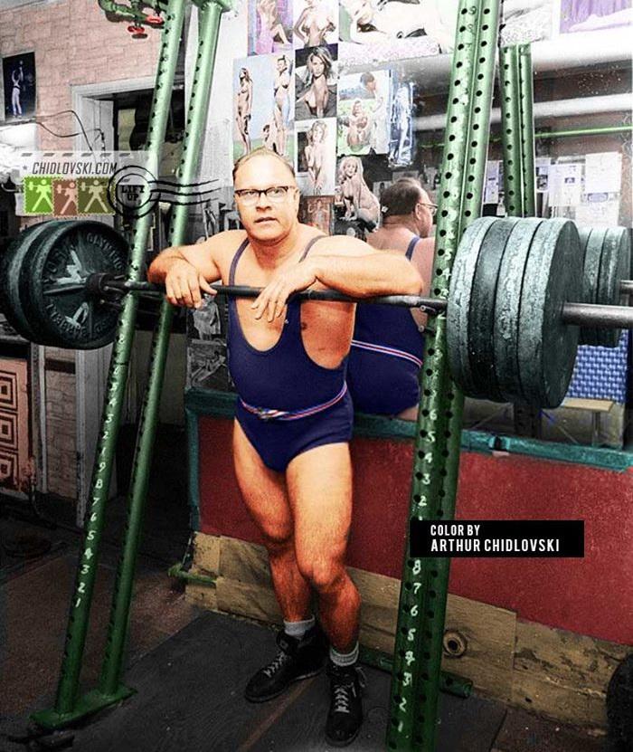 Norbert Schemansky - Snatching Heavy