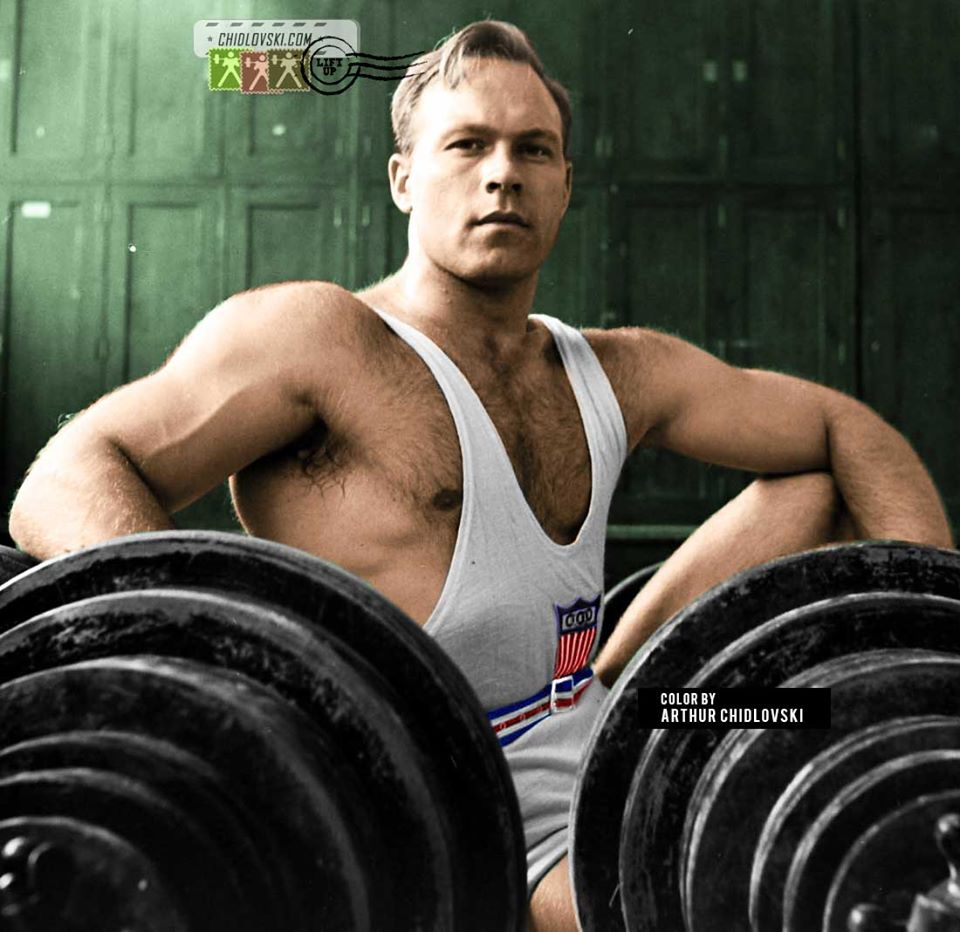 Norbert Schemansky Going Heavy for the Olympic Gold