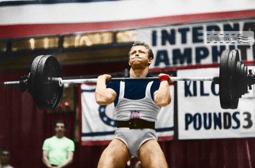 Isaac Berger is considered one of the best in American weightlifting history