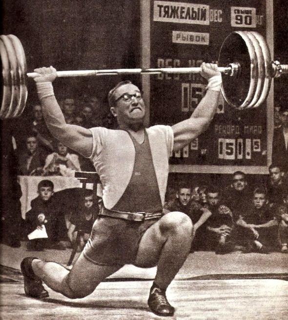 Юрий Власов о силовом тренинге в жизни