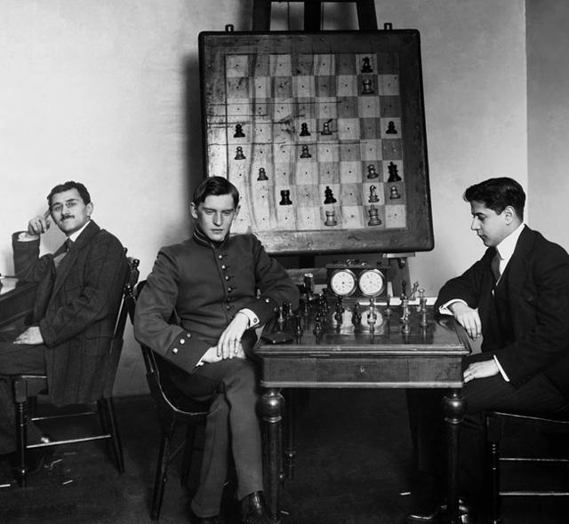 Алехин - золотой шахматист времен Российской империи