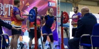 Молодая Мастер спорта на Кубке России